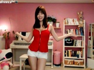 कोरियाई वेब कैमरा नृत्य