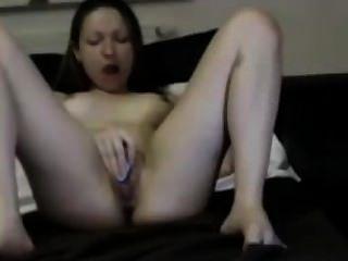कामुक जवान लड़की Masturbating और Cuming