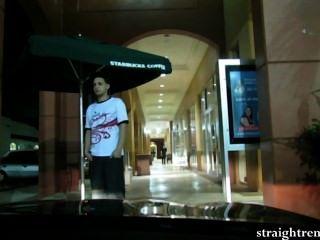 18 साल पुराने क्यूबा वर्जिन अपनी पहली किराया लड़का खरीदता