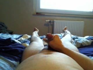 Schneller im Bett wichs